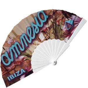 Full Colour Fabric Folding Fans