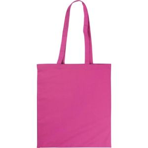 Full Colour Kingsbridge Cotton Tote Bags in Pink
