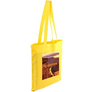 Full Colour Kingsbridge Cotton Tote Bags in Yellow