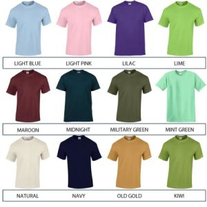 Corporate t shirts for company printing