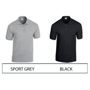 Corporate branded polo shirts for marketing