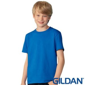 Printed Gildan Kids Softstyle T-Shirts for events