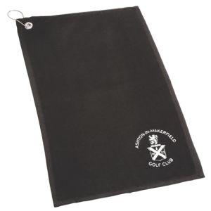 Golfing Towels in Black