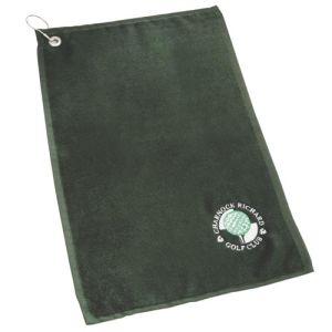 Golfing Towels in Dark Green