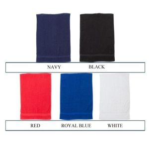 Embroidered towels for travel marketing products