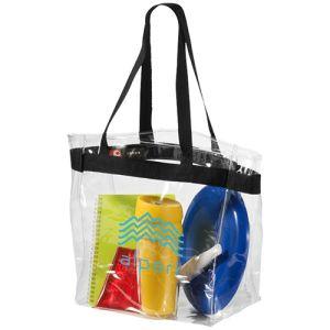 Hampton Clear PVC Tote Bags