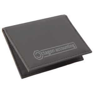 Corporate branded card cases for merchandise gifts