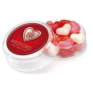 Heart Shaped Gourmet Jelly Bean Pots