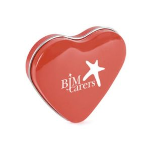 Promotional Heart Shaped Mint Tins for Company Handouts