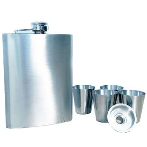 Custom branded Hip Flasks branded with logo