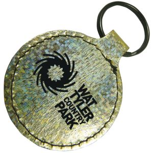 Printed Keychains with Campaign Logos