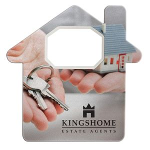 House Shaped Bottle Openers in White