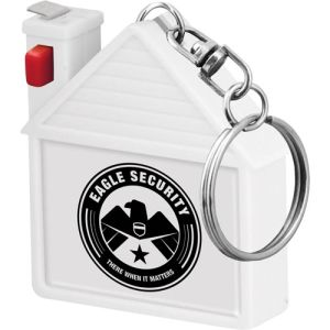 House Shaped Tape Measure Keyrings