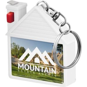 House Shaped Tape Measure Keyrings