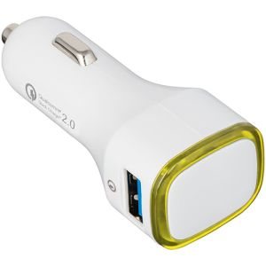 Custom branded car charger for business giveaways