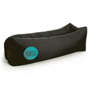 Inflatable Air Bed Loungers in Black