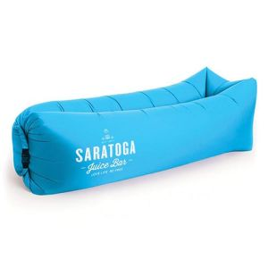 Inflatable Air Bed Loungers in Blue