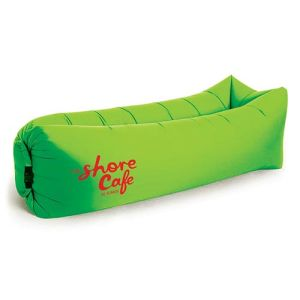 Inflatable Air Bed Loungers in Green