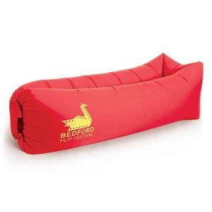 Inflatable Air Bed Loungers in Red