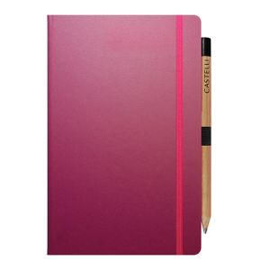 Promotional Ivory Matra Medium Notebooks with Pencil for councils
