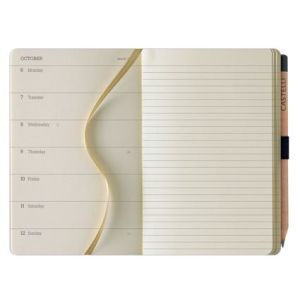 Corporate branded diary for luxury advertising campaigns