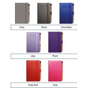Custom branded journal for business marketing colours