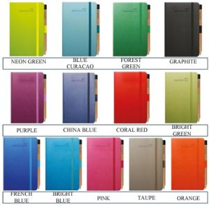 Branded week to view diaries for desktop advertising colours