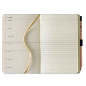 Promo journals for business gifts page layout