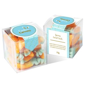 Jelly Carrot Cubes