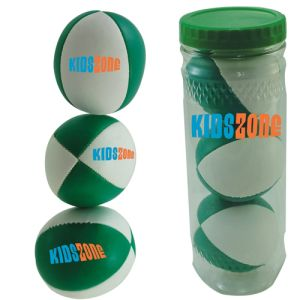 Branded Juggling Ball Set for company Gifts