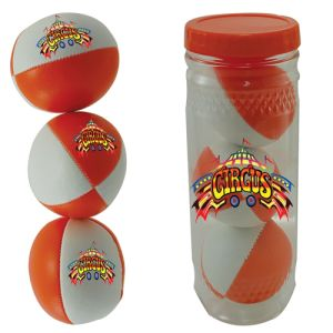 Custom Printed 3 Ball Juggling Sets for Kids Giveaways