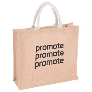 Promotional Jute Bag For Life for shop merchandise