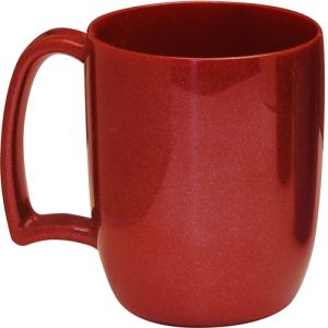 Kafo Recycled Mugs in Red