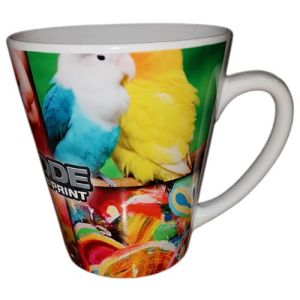 Kolkata Latte Photo Mugs in White
