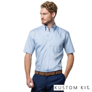 Kustom Kit Mens Short Sleeve Shirts