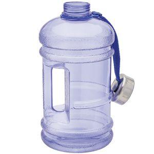 Promotional 2 litre water bottle in blue