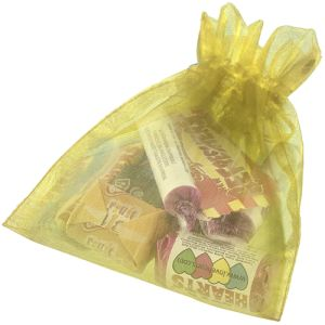 Large Organza Bags with Retro Sweets