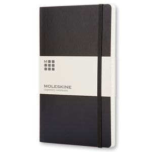 Large Moleskine Soft Cover Ruled Notebook