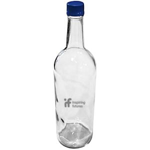 Promotional Large Screw Top Glass Bottles for Corporate Gifts
