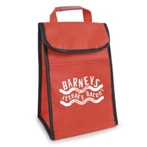 Your logo will truly 'pop' against the vibrant background of these branded cooler bags