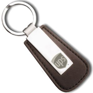 Sapporo Leather Keyring