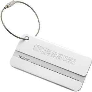 Discovery Metal Luggage Tags