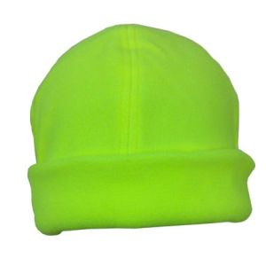Luminous Fleece Beanie in Green