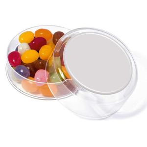 Branded jelly beans for marketing campaigns