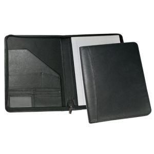 Melbourne Leather Zipped A4 Folders