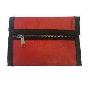 Mesh Wallet in Red