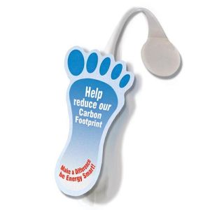 Message Display Wobblers in White