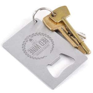 Metal Credit Card Bottle Openers