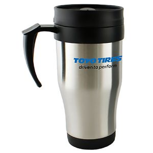Promotional Metal Insulated Travel Mug for workplace