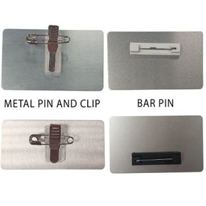 Promotional metal name badge for bars fittings